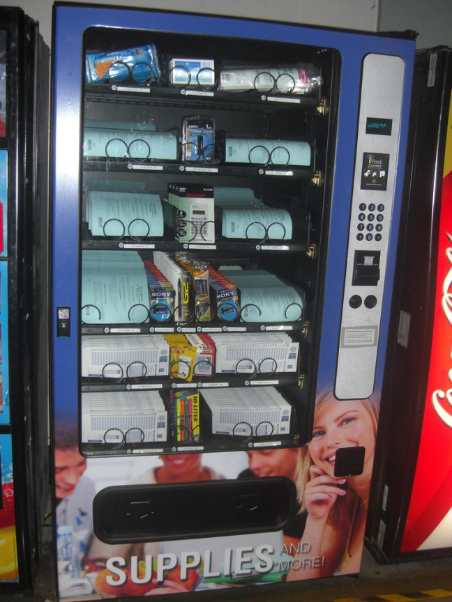 Testing Supplied Vending Machine