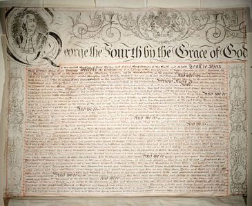 kings_college_royal_charter_1827_leaf1