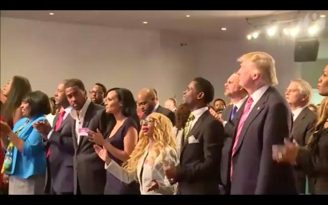 trump-black-church