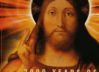 2000 Years of Jesus. A copy of Newsweek from March 29, 1999 with an icon of Jesus.