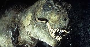 Tyrannosaurus Rex from Jurassic Park
