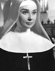 Audrey Hepburn in a nun's Habit