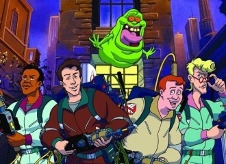 """The Real Ghostbusters"" ad for the late 1980s/early 1990s cartoon."