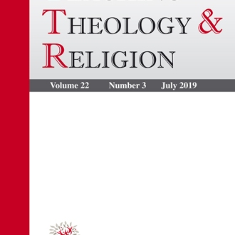 Cover of the journal, Teaching Theology & Religion