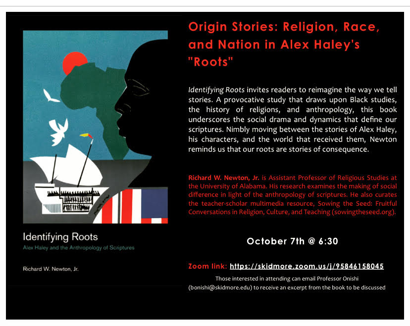 "Origin Stories: Religion, Race, and Nation in Alex Haley's ""Roots"""